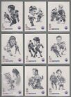 1986-87 Kraft Drawings Hockey Cards 8