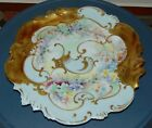EXQUISITE! ANTIQUE Cabinet Plate LIMOGES France GOLD ENCRUSTED!