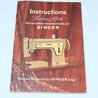 SINGER ZIG ZAG SEWING MACHINE INSTRUCTION MANUAL FOR MODEL 237