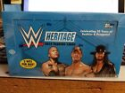 2015 TOPPS WWE HERITAGE WRESTLING HOBBY BOX FACTORY SEALED