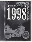 1998 Harley Touring FLT Service Repair Workshop Manual Book Guide 99456 98B