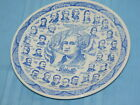 Presidential Gallery First Ed 1942 Blue & White Display Plate Washington-FDR