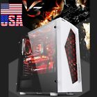 V3 Micro ATX Computer PC Gaming Case For M ATX Mini ITX Motherboards US SHIP