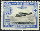 Spain Aviation Aircraft over ocean Xoat of Arm stamp 1926 MLH