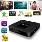 2G+16G TX3 mini TV BOX Android 7.1 S905W Quad Core HD-MI WiFi 4K 3D Player E7H4