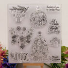 Silicone Clear Stamp Transparent Rubber Stamps DIY Scrapbook Christmas gift HF