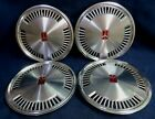 OLDSMOBILE ACHIEVA 92 93 CALAIS 90 91 14 METAL WHEEL COVERS SET OF 4 OEM
