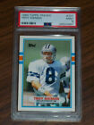 1989 Troy Aikman Rookie #70T Topps Traded, PSA 9, Dallas Cowboys