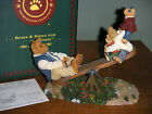 Boyds Bears 2006  ~DAD WITH TEETER, TOTTER AND BOING...WORLD'S BEST DAD~#228484