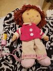 Strawberry shortcake doll With Back Pack And Pink Wire