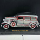 Diecast Model classic car anson ford mint 1931 Peerless 127 scale silver case
