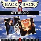 Never Too Late &  Back To Back CD (1993) Highly Rated eBay Seller, Great Prices