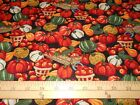 1 yard Packed Harvest Fall Harvest Fabric