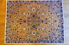 Rare Persian Silk Finest Semi Antique Signed Sarouk Rug MUST SEE MASTERPIECE