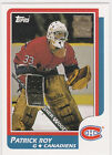 PATRICK ROY Hockey RP RC Topps ROOKIE CARD Avalanche Canadiens GOALIE NHL HOFer
