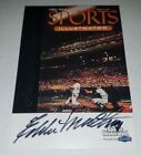 Eddie Mathews 1999 Fleer GOTG Greats of Game Sports Illustrated Signed Autograph