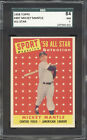 1958 Topps #487 Mickey Mantle All-Star SGC 7