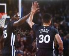 STEPHEN CURRY & KEVIN DURANT DUAL AUTOGRAPHED SIGNED 16x20 PHOTO WARRIORS w COA