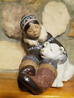 LARGE RETIRED LLADRO GRES FIGURE GROUP