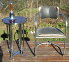 Vintage Art Deco Machine Age Chrome Chair Lloyd Kem Weber Era