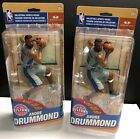 McFarlane NBA 31 Andre Drummond Set of 2 Variant Silver Jersey NIB Pistons