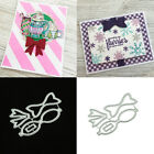 Bowknot Bow Tie Cutting Dies Embossing Stencil Scrapbook Paper Card Decor Fashio