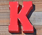 ENTIRE ALPHABET 7 Metal Marquee Letters Vintage Style Sign Letter 15 COLORS