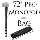 72 Monopod with Quick Release for DSLR Cameras Camcorders