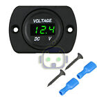 12v-24v Car Marine Motorcycle Led Digital Voltmeter Voltage Meter Battery Gauge
