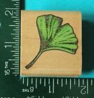 GINKO LEAF Rubber Stamp by Rubber Stampede