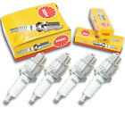 4pcs 2004 LEM LX3 Racer NGK Standard Spark Plugs 49cc 2ci Kit Set Engine cy