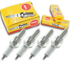 4pcs 1987 Husqvarna TC510 NGK Standard Spark Plugs 499cc 30ci Kit Set Engine kt