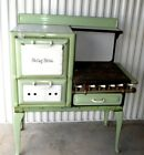 1920-30'S PORCELAIN-GAS STOVE- BETSY ROSS- MODEL-SIGN ALL ORG- MUST SEE-43