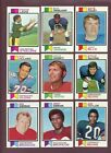 LOT OF (2,510) ASSORTED 1973 TOPPS FOOTBALL CARDS (VG-EX to EX-MT) *GMCARDS*