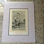 """RARE SHAKESPEARE PRINT FROM 1900 LTD COLLECTION EATON """"MR. HACKET AS FALSTAFF"""""""