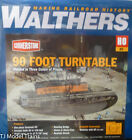 Walthers HO 933 3171 90 Foot Turntable HO Scale
