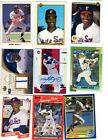 Sammy Sosa Autograph Game Used and 7 different Rookie cards