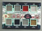 Williams Clemens DiMaggio Fisk Boggs 2018 Leaf In the Game UsedTeam 8's #2 6