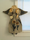 Primitive  ANGEL DOLL Country Fabric Cloth Folk Art  hand crafted Collectible