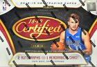 2018-19 PANINI CERTIFIED BASKETBALL HOBBY SEALED BOX - PRE-ORDER!