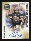 2011 Press Pass Drew Brees Chargers RC Rookie AUTO 214 250