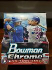 2016 Bowman Chrome Baseball Factory Sealed Hobby Box