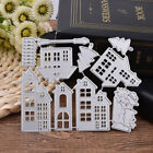 Metal House Cutting Dies Stencil Scrapbooking Paper Card Embossing DIY Craft