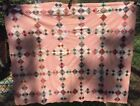 Antique Vintage Late 1800s Quilt Top ~ Squares Upon Squares Set on Point