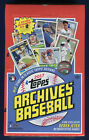 2017 Topps Archives Baseball Factory Sealed Hobby Box
