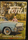 1959 FORD OWNERS MANUAL  CARS FULL LINE  VG/EX