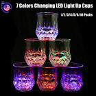 7 Color Changing LED Light Wine Whisky Cup Beer Drink Glass Halloween Xmas Party