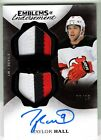 17-18 Upper Deck The Cup Emblems of Endorsement Auto Patch Taylor Hall 8 15