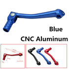 For Motorcycle ATV Dirt Bike Durable CNC Folding Aluminum Blue Gear Shift Lever