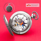 Erotic Pocket Watch Loving Couple Pilot Husar Piano Analog Watch 3602 Molnija Jl